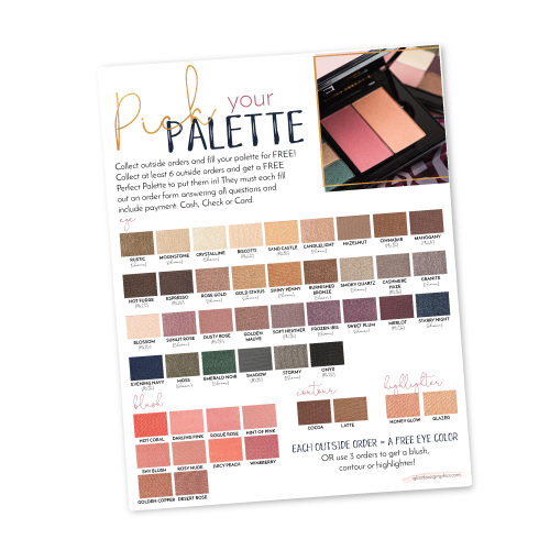Pick Your Palette Hostess Program