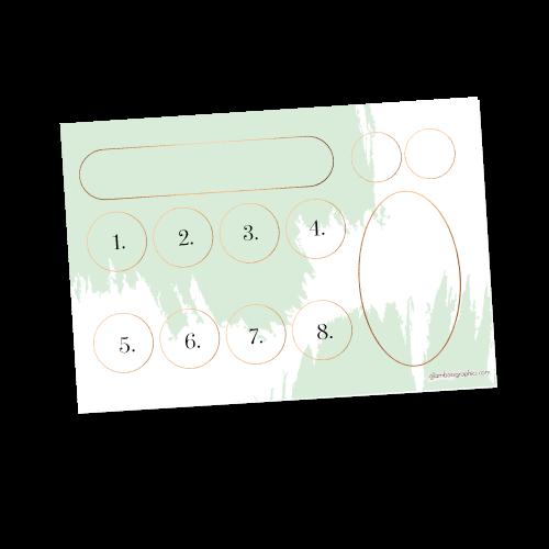 Product Tray Insert – Beauty Experience Mint Green