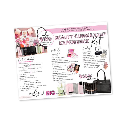 Beauty Consultants Experience Starter Kit