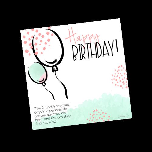 Happy Birthday Template 2