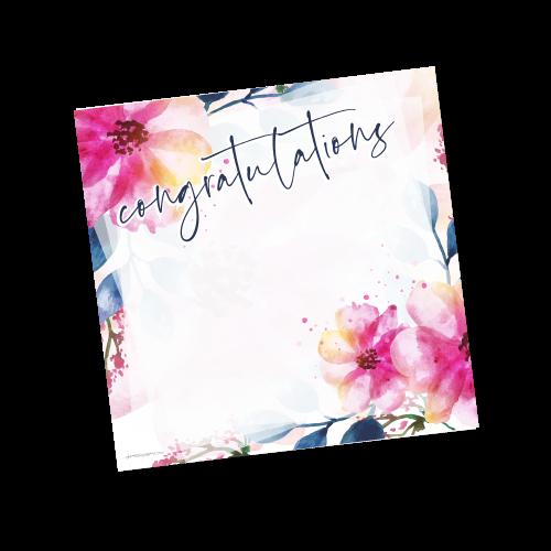 Congratulations Template – Spring