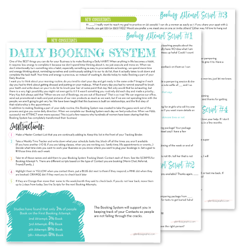 Daily Booking System