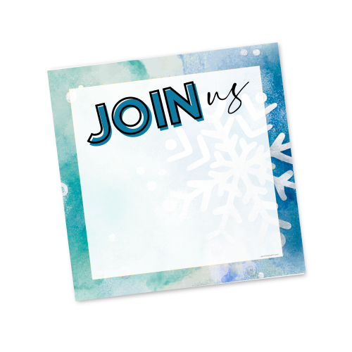 Join Us – Winter