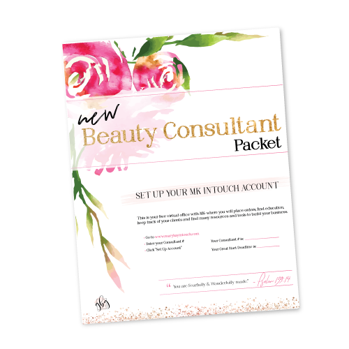 New Consultant Packet Cover