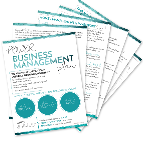 Power Business Management Plan