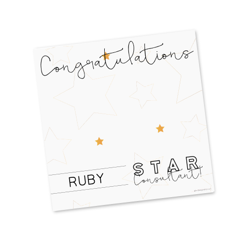 Ruby Star Consultant Template