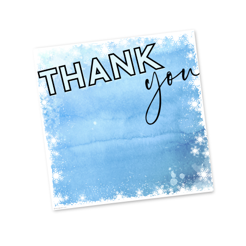 Thank You – Winter