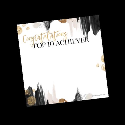 Top 10 Achiever