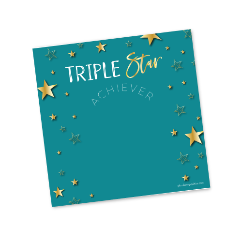 Triple Star Achiever