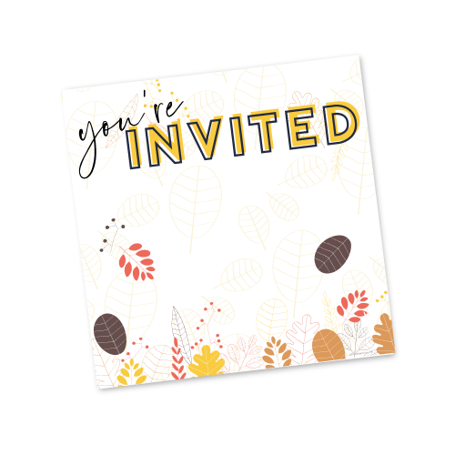 You're Invited – Fall