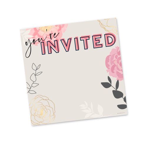 You're Invited – Spring