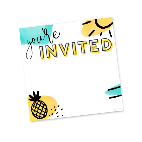 You're Invited – Summer