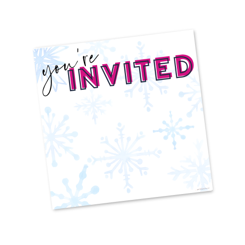 You're Invited – Winter