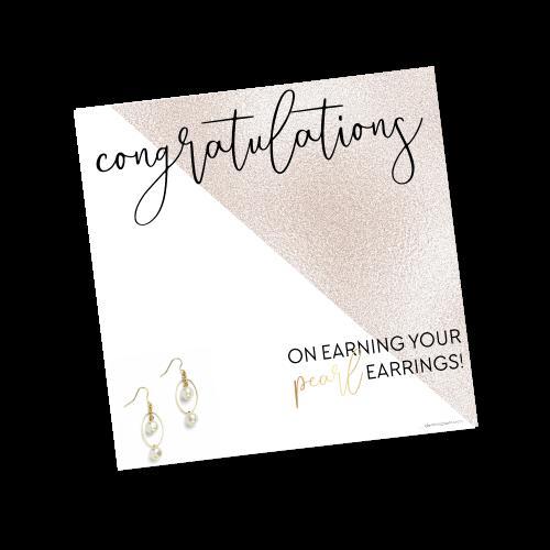 Pearl Earrings Achiever