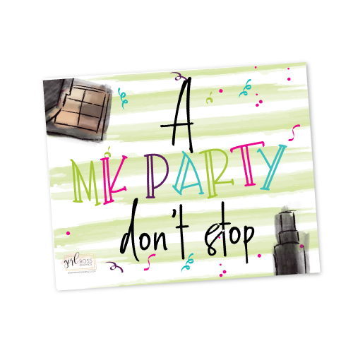 A MK Party don't Stop