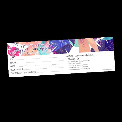 Aloha Gift Certificate