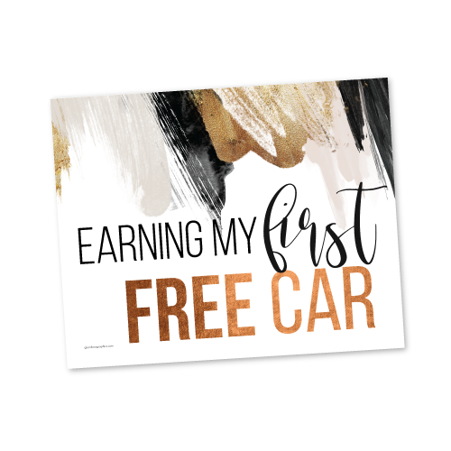 Earning my first FREE Car