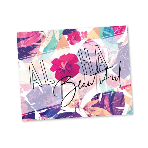 Aloha Beautiful 8×10 Sign