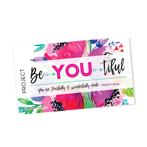 Project Be•YOU•tiful Gift Tags