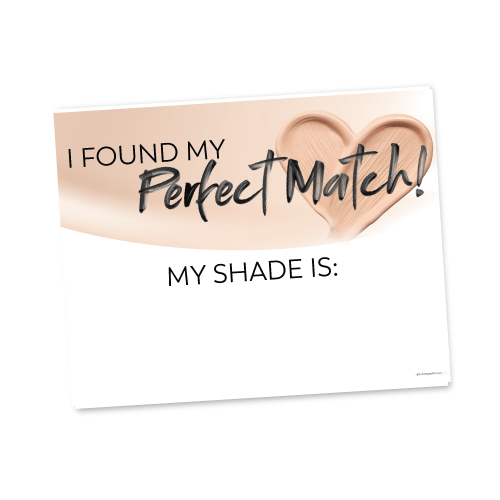 Perfect Match Sign