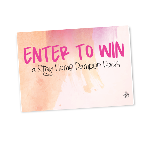 Lead Box Sign​- Stay Home Pamper Pack 1