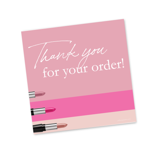Thank You For Your Order Image