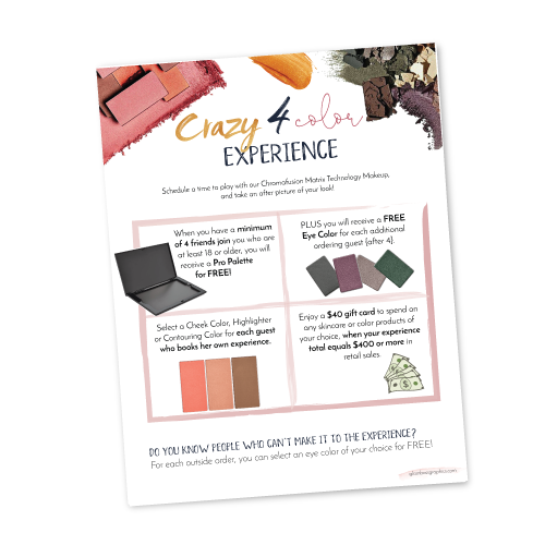 Crazy 4 Color Hostess Program