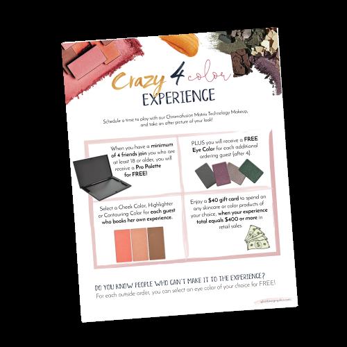 Crazy 4 Color Hostess Program