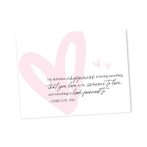 Mary Kay Ash Quote Postcard​
