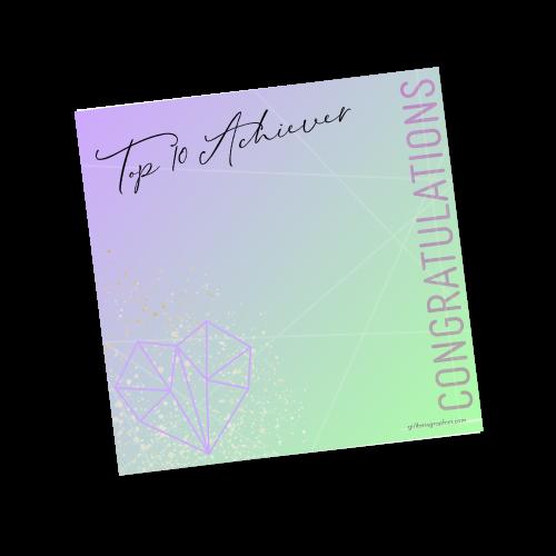 Top 10 Achiever 2