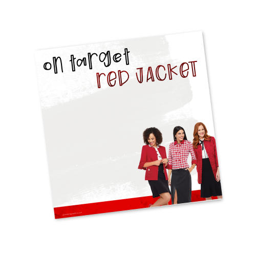 On Target Red Jacket
