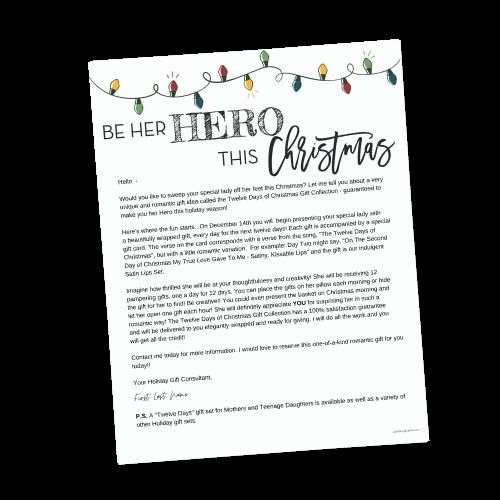 Be Hero Hero This Christmas Letter