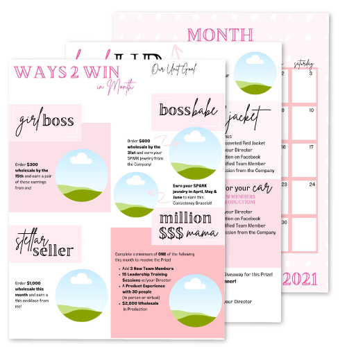 Unit Monthly Mailer Template