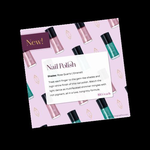 Nail Polish New Product Image – Fall 2021