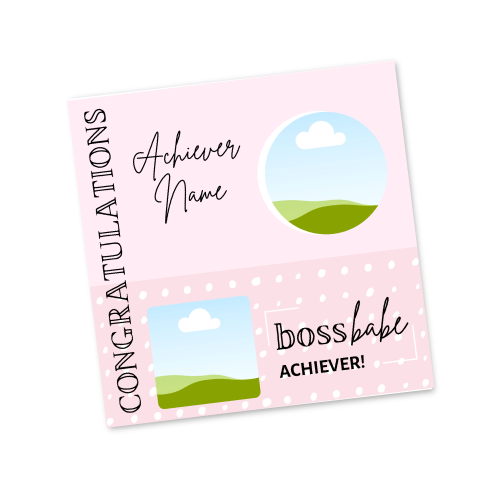 Boss Babe Achiever Template